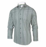 Blue Industry Overhemd 2064.21 green -