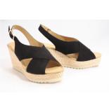 Gabor 5.791.17 sandalen zwart
