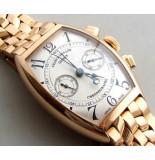 Christian 18 karaat gouden franck muller horloge geel goud