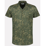 Dstrezzed Shirt s/s camo leaves 311210/511