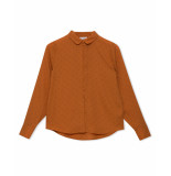 Another Label Blouse d04-220137 oranje