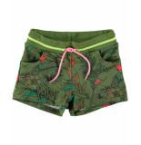 Funky XS Short palm shorts groen
