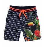 Funky XS Short all over shorts blauw