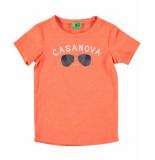 Funky XS T-shirt casanova tee rood