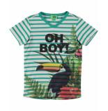 Funky XS T-shirt boy tee groen