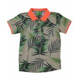 Funky XS Polo tropic polo groen