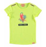 Funky XS T-shirt paradise tee geel