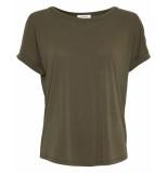 MOSS COPENHAGEN T-shirt 15456 fenya groen