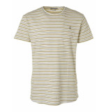 No Excess T-shirt s/sl, r-neck, yd stripe jac offwhite