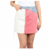 Tommy Hilfiger Short denim skirt tmyflg blauw