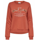 Only Sweatshirt 15203225 onlamina rood