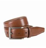 Eagle Belts Nette pantalon riem cognac