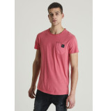 Chasin' 5211400092 e40 t-shirt naples red rood