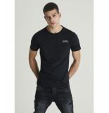 Chasin' 5211400100 e90 t-shirt black zwart