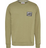 Tommy Hilfiger Sweat dm0dm08062 l8q uniform olive - groen