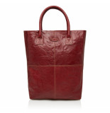 dR Amsterdam Shopper Rood One size