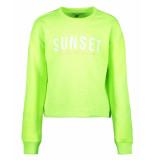 Cars Sweaters kids casia sw lime groen