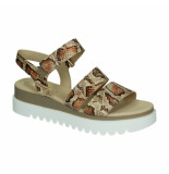 Gabor Slippers sandalen 045862 geel