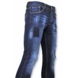 True Rise Strakke jeans biker jeans