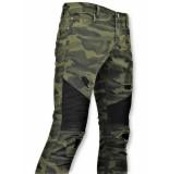 True Rise Army stretch jeans spijkerbroek