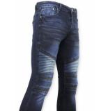 True Rise Biker jeans skinny spijkerbroek