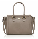 dR Amsterdam Hand / schoudertas Taupe One size