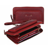 dR Amsterdam Clutch Rood One size