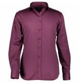 State of Art Overhemd satijn twill paars