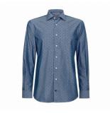 Tommy Hilfiger Tommy hilfiger blauwe overhemd