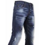 True Rise Basic broek jeans verf