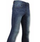 True Rise Skinny basic jeans man spijkerbroek washed
