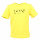Hugo Boss Junior Tee shirt manches geel