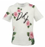 Dolce and Gabbana Kids T-shirt manica roze