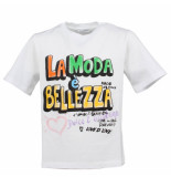Dolce and Gabbana Kids T-shirt manica wit