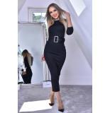 Catwalk Eliana black midaxi dress