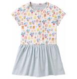 Room Seven  Jersey jurk taramel voor meisjes-