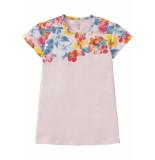 Room Seven  Jersey jurk tatoua voor meisjes roze-