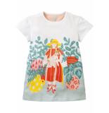 Room Seven  Jersey jurk tatoua voor meisjes wit-
