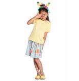 Room Seven  Jersey t shirt tipo voor meisjes geel-