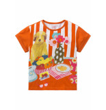 Room Seven  Jersey shirt tota voor meisjes oranje-