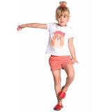 Room Seven  Sweat short hariana voor meisjes rood-
