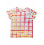Room Seven  Jersey t-shirt tins voor meisjes wit-