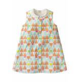 Room Seven  Meisjes katoenen jurk doll-