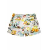 Room Seven  Meisjes katoenen korte broek shorts paulette- wit