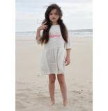 Room Seven  Sweat jurk harleta voor meisjes wit-