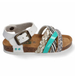 Bunnies Jr. Becky beach meisjes sandalen wit