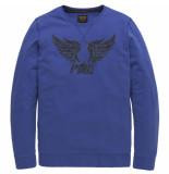 PME Legend T-shirts lange mouw 126987 denim