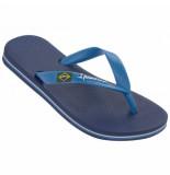 Ipanema Slipper classic brasil 2 kids blue-schoenmaat 27 28