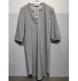 Penn & Ink S20m-jillp 900 ny jurk all over print dobby zwart