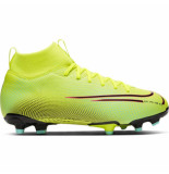 Nike Mercurial superfly 7 academy mds fg/mg kids lemon